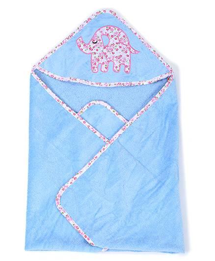 Sapphire Hooded Towel - Blue