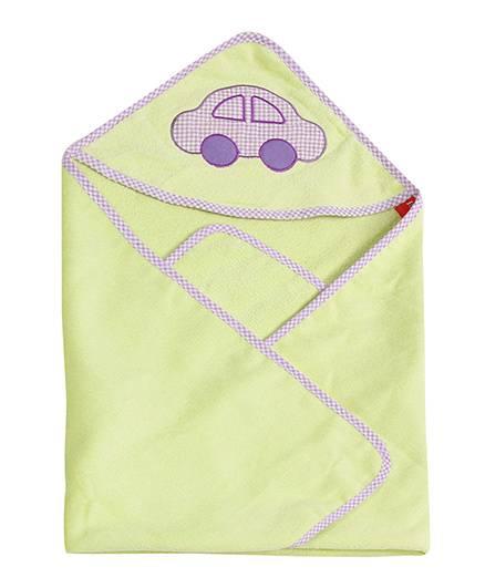 Sapphire Hooded Towel - Green