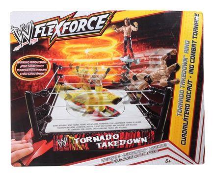 WWE Flexforce Tornado Takedown