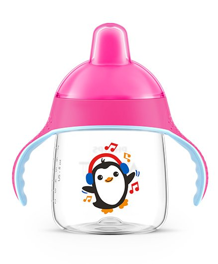 Philips Avent Premium Spout Cup 260 Ml - Pink - 12 Months+