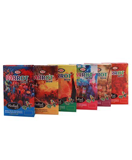 Tota Herbal Gulal Gift Pack - Pack of 6