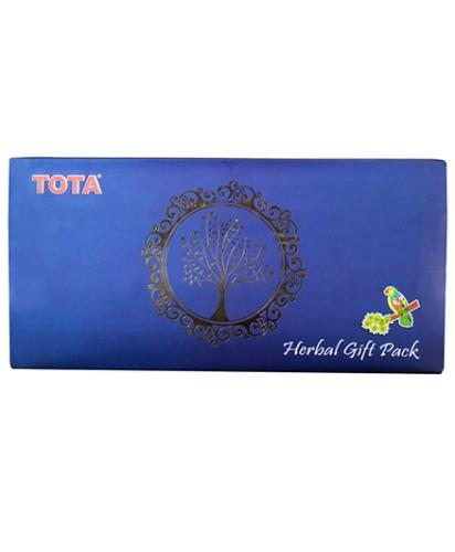 Tota New Herbal Gift Pack - Blue
