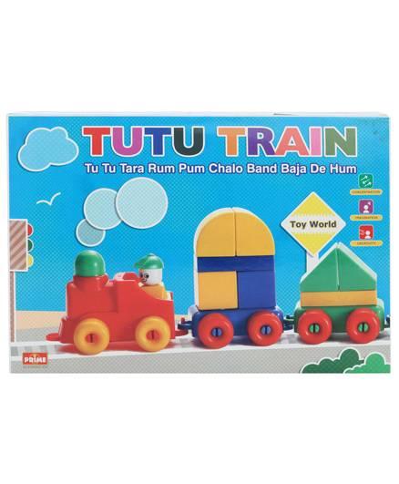 Prime Creation Senior Tutu Train Multicolor - 41 Pieces
