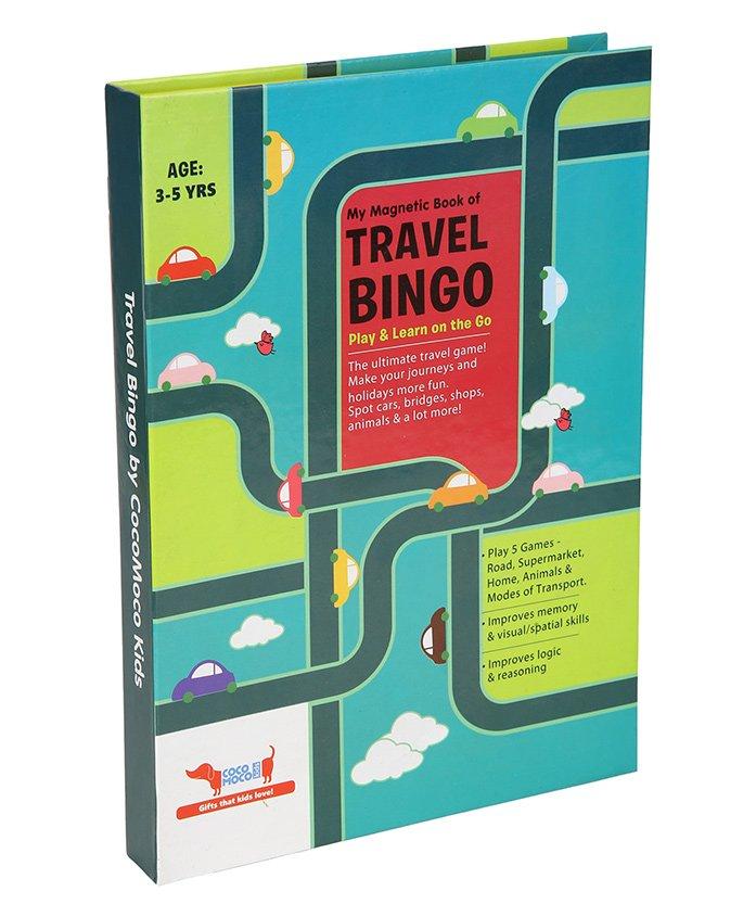 Cocomoco Kids Travel Bingo - Multicolor
