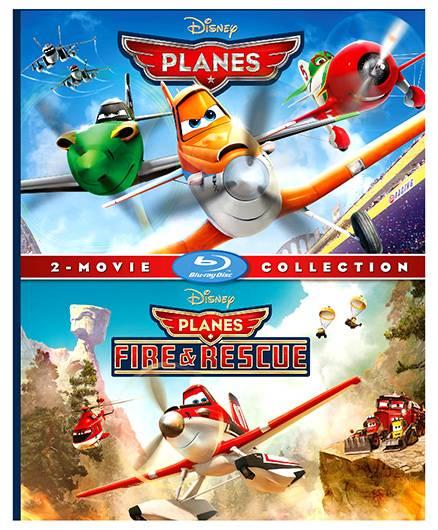Sony Disney Planes 1 And 2 Blu-ray Disc U - English