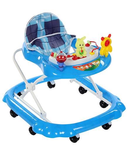 Musical Baby Walker Rabbit Toy - Blue