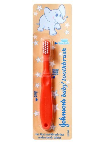 Johnsons baby Toothbrush - Peach
