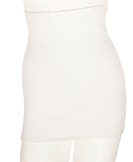 Aaram Corset For Compression And Tummy Reducer Small - White