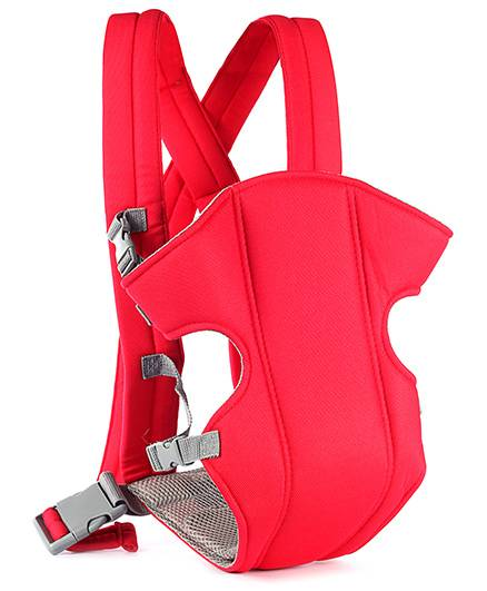 Baby Carrier With Padded Straps - Red
