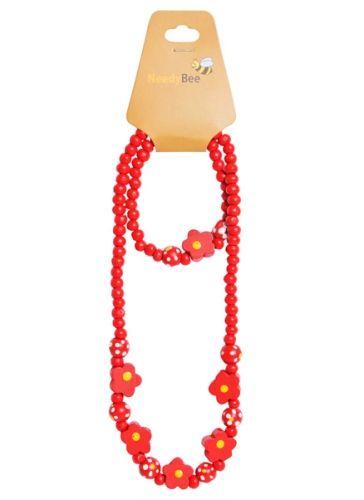 NeedyBee - Wooden Jewellery Set