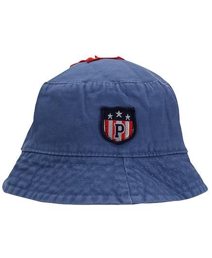 Babyhug Bucket Cap Embroidered Patch - Blue
