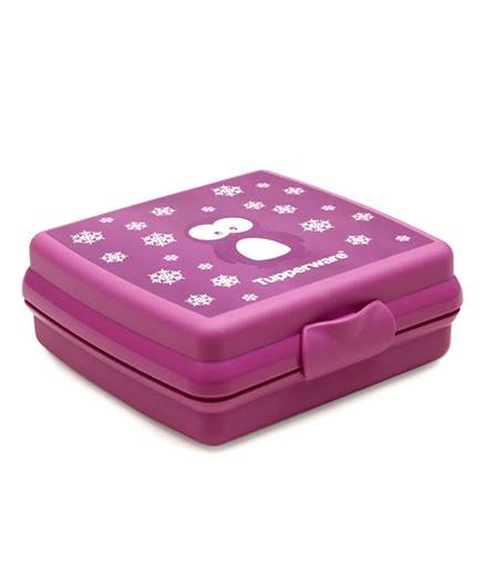 Tupperware Sandwich Keeper Penguin - Purple
