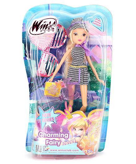 Winx Funskool Charming Fairy Stella Doll