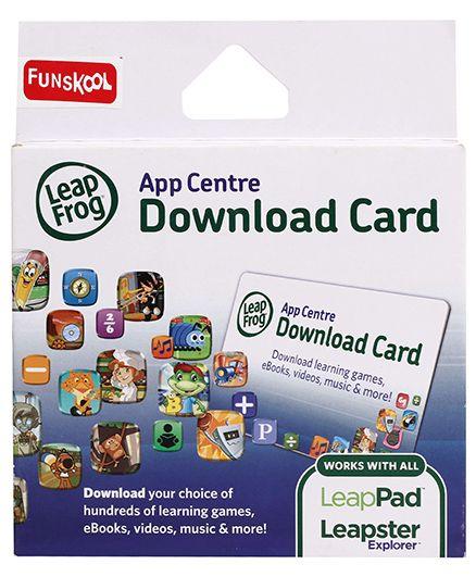 Leap Frog App Centre Download Card