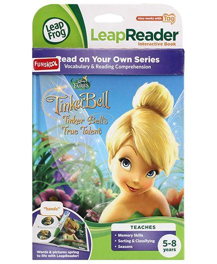Leap Frog Leap Reader Interactive Book Tinker Bell True Talent