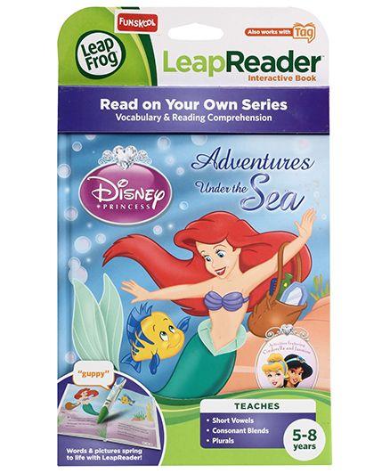 Leap Frog Leap Reader Disney Princess Adventures Under The Sea