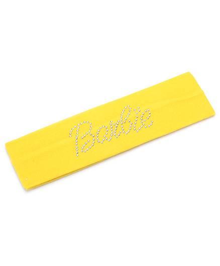 Barbie Studded Hairband - Yellow