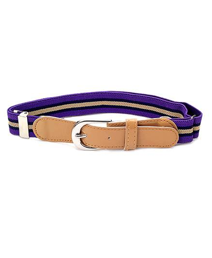 Babyhug Belt Stripes Pattern - Peru And Purple