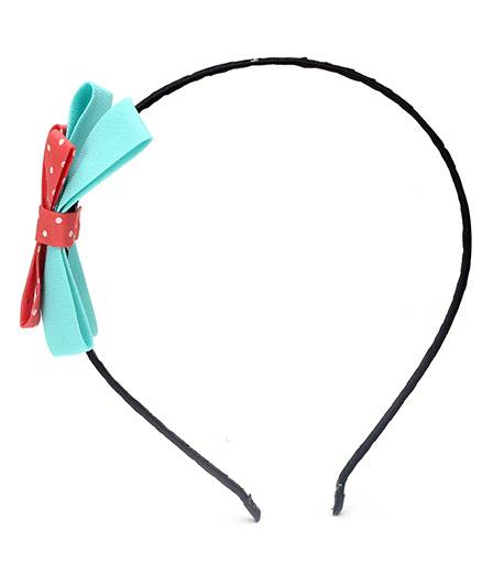 Dchica Hair Band With Bow-Multi Colour