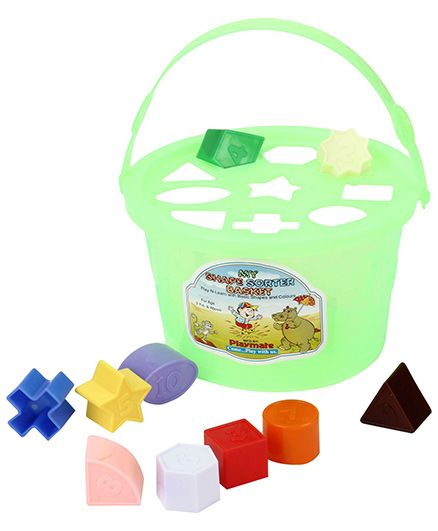 Playmates My Shape Sorter Basket- Multi Colour