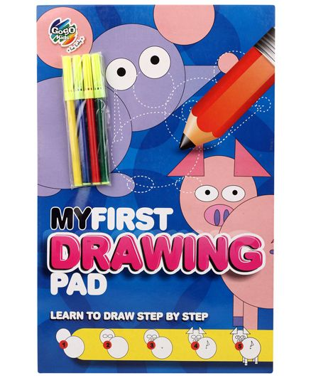 Chitra My First Drawing Pad Learn to Draw Step By Step