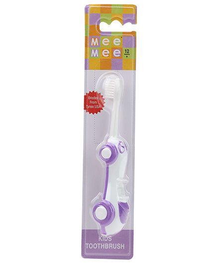 Mee Mee Car Shaped Kids Toothbrush - Purple