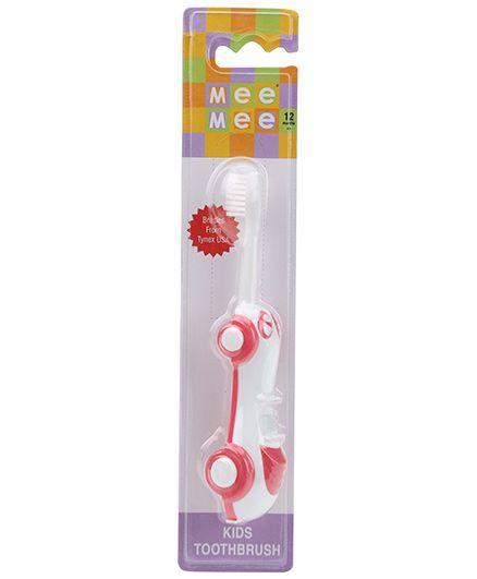 Mee Mee Car Shaped Kids Toothbrush - Pink