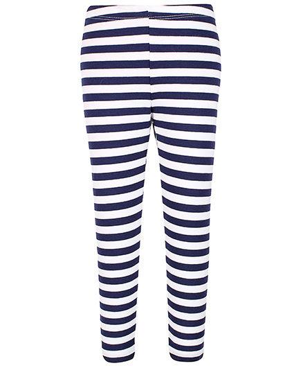 Colored Striped Leggings Stripes Pattern Leggings