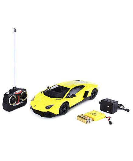 Mitashi Dash Lamborghini Aventador Remote Control Car - Yellow