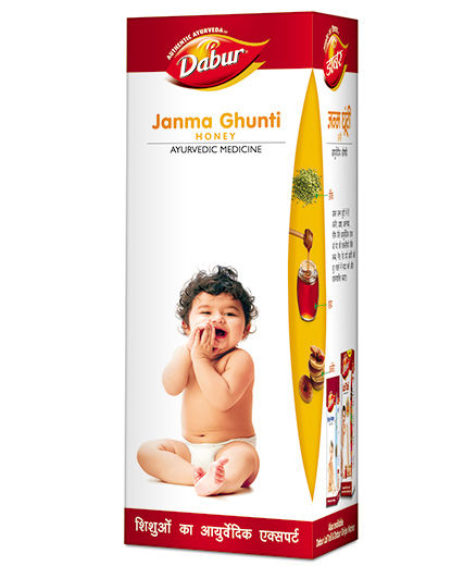 Dabur Janma Ghunti Honey - 125 ml