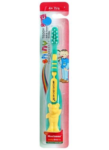 Morisons Baby Dreams - Shiny Teddy Toothbrush Green