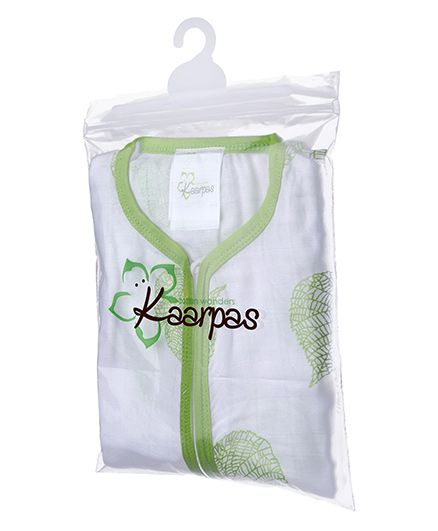 Karpaas Sleeping Bag Pack Of 1 - Green Leaf
