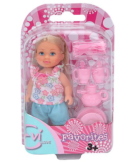 Simba Evi Love Favorites Pink And Blue - 12 cm