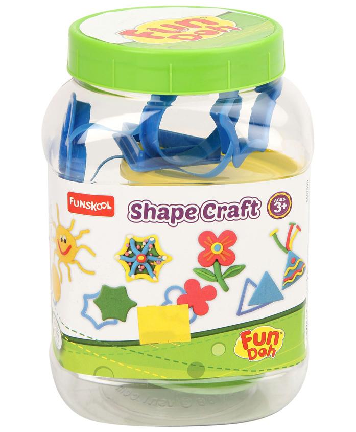 Fun Doh Funskool Shape Craft - Multi Color