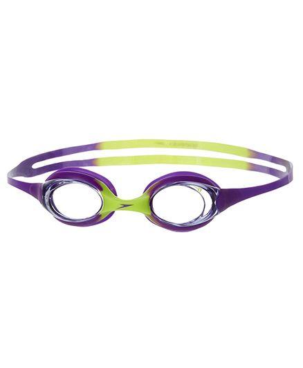 Speedo Skoogle Swimming Goggles - Purple And Green