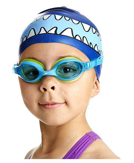 Speedo Sea Squad Cap And Goggle Set - Blue
