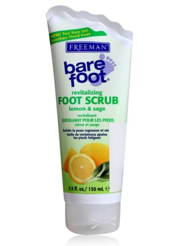Freeman Bare Foot Lemon & Sage Revitalizing Foot Scrub