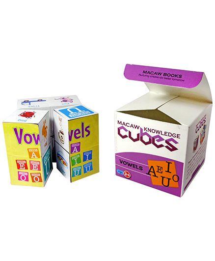 Macaw Phonics Cubes - Vowels