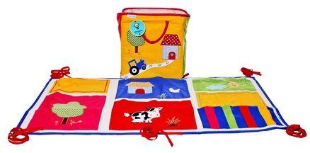 Abracadabra - Farm Organizer  & Toy Basket Combo