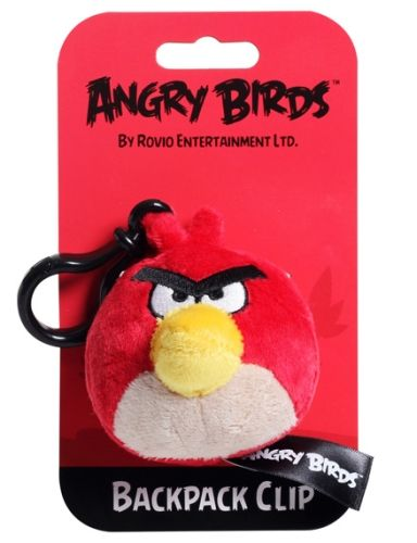 Angry Birds - Red Backpack Clip 3'' Without Sound
