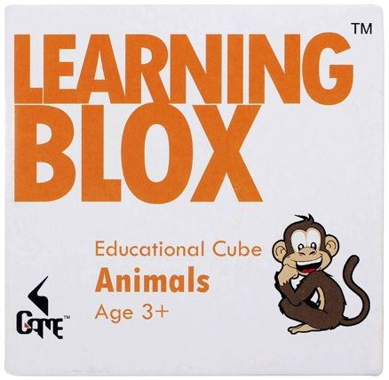 Learning Blox - Animals Educational Cube
