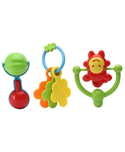 Sunny Colourful Rattle Set - 3 Rattles