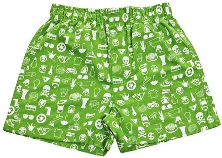 Boxer Shorts - Light Green