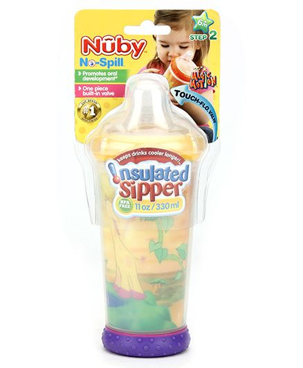 Nuby No Spill Insulated Soft Sipper - 330 ml