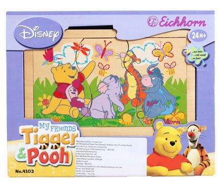 Simba - My friends Tiger & Pooh Puzzles