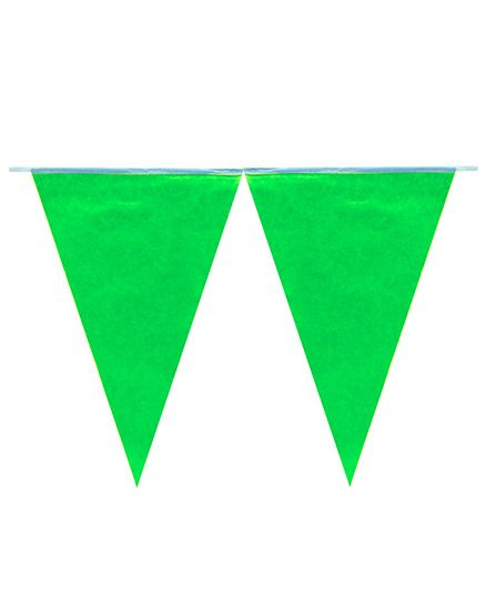 Partymanao Flag Banner - Green