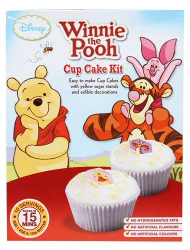 Disney - Winnie The Pooh Cup Cake Kit