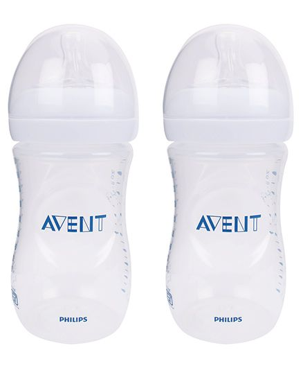 Avent Natural Baby Bottle Pack Of 2 - 260 Ml