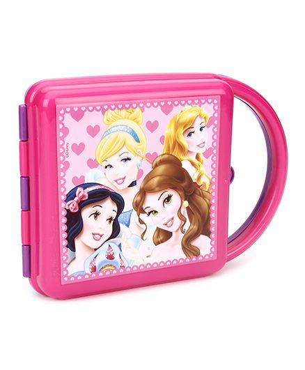 Disney Princess Lunch Box With Handle - Pink