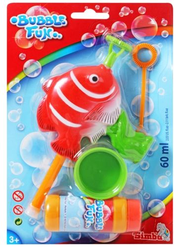 Simba -  Bubble Fun Fish Red